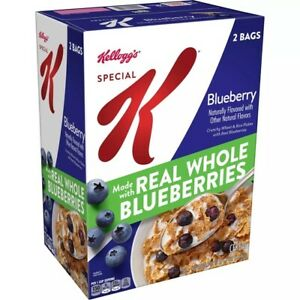 Kellogg's Special K Breakfast Cereal, Blueberry  (36.7oz.) GREAT DEAL!!