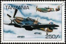 WWII RAF Hawker HURRICANE Mk.IIB Hurribomber & Spitfire Mk.IA Aircraft Stamp