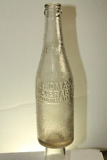 JACKSONVILLE FLA THOMAS BEVERAGE SODA BOTTLE