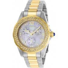 Invicta Women's Watch Angel White MOP Dial Two Tone Bracelet 28437