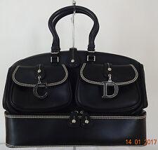 *** DIOR ***  Luxus Large Detective Bag Black Leather $2790