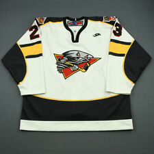 2006-07 Cory Urquhart Cincinnati Cyclones Game Worn ECHL Hockey Jersey! MeiGray