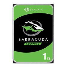 """Seagate BarraCuda 1TB Internal Hard Drive HDD 3.5"""" SATA 6 Gb/s 7200 RPM 64MB"""