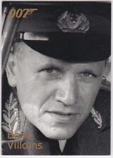 JAMES BOND DANGEROUS LIAISONS BOND VILLAINS F34 STEVEN BERKOFF AS GENERAL ORLOV