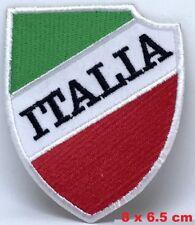 ITALY - ITALIAN - ITALIA Flag Soccer Football Embroidered Patch/ Badge/ Logo