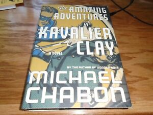 The Amazing Adventures of Kavalier and Clay Signed by Michael Chabon HC 1st/1st