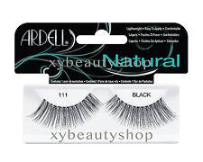 10 Pairs Ardell Natural 111 Fashion Lash Fake Eyelashes Black
