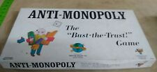 """Vintage Anti Monopoly 1973 COMPLETE VGC """"Bust The Trust"""" Board Game"""