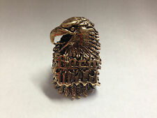 Born Wild Ring-Gold- Seen on Sons of Anarchy-Size-9