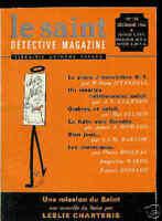Le SAINT DETECTIVE MAGAZINE N°118 /HAL ELLSON.O'FARRELL