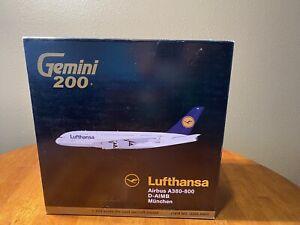 Airbus A380-800  Lufthansa Gemini 200 1:200 Scale G2DLH405