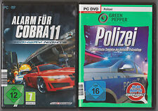 Allarme per Cobra 11 Highway Nights + polizia polizia quotidiano PC