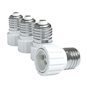 Riuty Lampenfassung-Adapter 6 K/öpfe Sockel-LED-Birnen-Konverter E27 f/ür Heimstudio-Foto 6//7 K/öpfe 85-285V