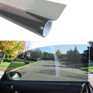 1 Roll 50cm*1M Black Glass Window UV Tint Shade Film VLT 70% Car Accessories New