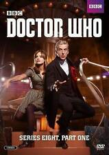 NEW NO SEAL GENUINE BBC USA DVD DOCTOR WHO  SERIES EIGHT PT ONE FREE 1ST CLS S&H