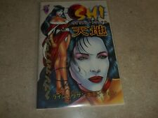 SHI : HEAVEN & EARTH - Rising Sun Edition Preview - 1998 NM Signed by Tucci