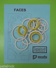 Sonic Faces pinball rubber ring kit