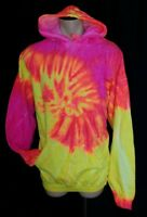 Men's TIE DYE Clothing Co. Rainbow Pullover Hoodie Size 2XL