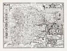 Antique European Maps & Atlases Essex 1600-1699 Date Range