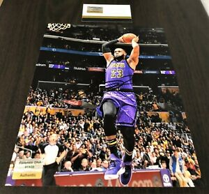 LeBron James Dunking Signed 8x10 Certified Photo Autograph Los Angeles Lakers