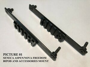 Picatinny/Weaver Bipod and/or Accessory Mount for Seneca Aspen