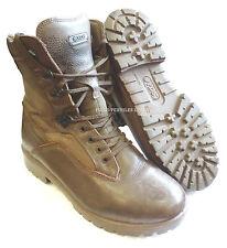 BRITISH ARMY - YDS KESTREL BROWN PATROL BOOTS - SIZE 10 MEDIUM - SN2850