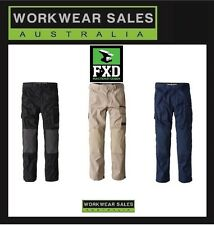 FXD Mens WP-1 Cargo Pants.  Work Wear Workwear New With Tags Free postage