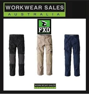 FXD Mens WP-1 Cargo Pants. Work Wear Workwear New With Tags Free postage WP1