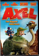 AXEL: The BIGGEST LITTLE HERO Movie on DVD of ANIMATED Kids CARTOON Family VIDEO