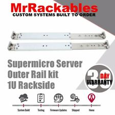 "1U Outer Rail kit Supermicro MCP-290-00052-0N 25.6"" to 33.05"" Quick set SC815TQ"