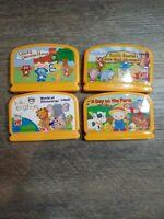 Vtech Vsmile Baby Infant Learning System Games Lot of 4 einstein farm pooh