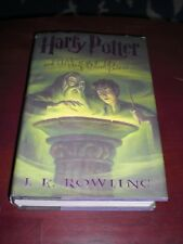 J. K. Rowling Harry Potter and The Half-Blood Prince First American Edition Book