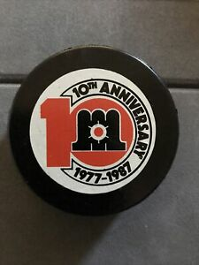 MAINE MARINERS AHL APPROVED 10th ANN VINTAGE GAME PUCK MINT EXTREMELY RARE!!