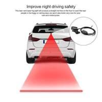 1 Set  Car LED Motorcycle Laser Fog Light Anti Collision Tail Warning Lamps