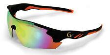 Mens Maxx HD Sunglasses mirrored black womens driving gold vision orange #4