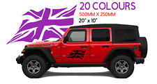 "large 20""X 10"" Union Flag DECAL Vinyl Sticker badge car caravan boat vw van"