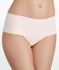 Hanky Panky White Bare Godiva High-Rise Thong Underwear Women's Size L 9220
