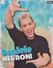 DANIELE NEGRONI - A4 Poster (ca. 21 x 28 cm) - DSDS Clippings Fan Sammlung NEU