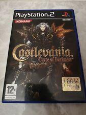 Castlevania curse of darkness Ps2 Playstation 2 Pal Italia