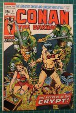 CONAN THE BARBARIAN #8 1971 HIGH GRADE/VFNM BWS ART  9.4 CGC COMPARISON ONLY
