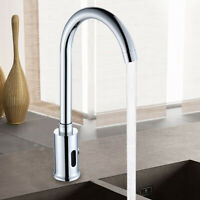 Auto Electronic Sensor Touchless Bathroom Sink Faucet Commercial Tap Automatic