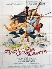 Affiche 120x160cm ON A VOLÉ LA CUISSE DE JUPITER 1980 De Broca, Annie Girardot #