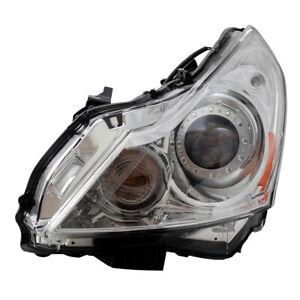 HID Headlight for Infiniti G37 Sedan G25 Q40 Driver Clear Lens Lamp 260601NM0C