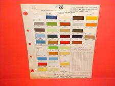 1976 CHEVROLET CHEVY LUV BLAZER GMC SPRINT SUBURBAN PICKUP TRUCK VAN PAINT CHIPS