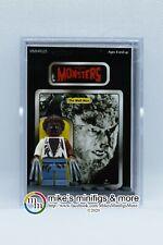 Universal Monsters THE WOLF MAN Custom Carded Minifigure Display Mini-figure