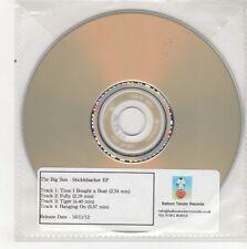 (GN560) The Big Sun, Sticklebacker EP - 2012 DJ CD