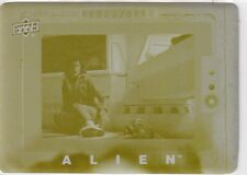 """2017 Alien Anthology Yellow Printing Plate """"Found It"""" Ripley Card #31 1/1"""