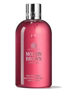 Molton Brown Fiery Pink Pepper Bath & Shower Gel 300ml - NEW FRESH AUTHENTIC
