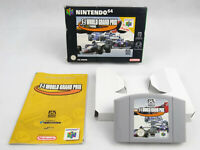 F1 World Grand Prix N64 Nintendo 64 Boxed PAL