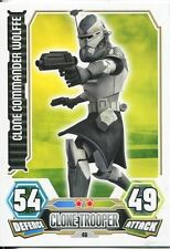 Star Wars Force Attax Series 3 Card #46 Clone Commander Wolffe